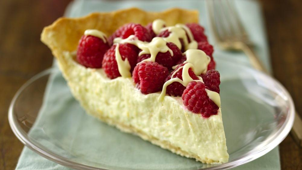 White Chocolate-Raspberry Pie recipe from Pillsbury.com
