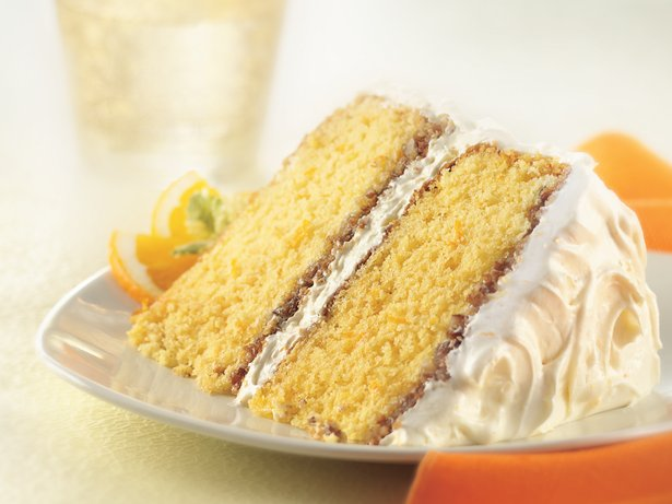 Orange Crunch Cake