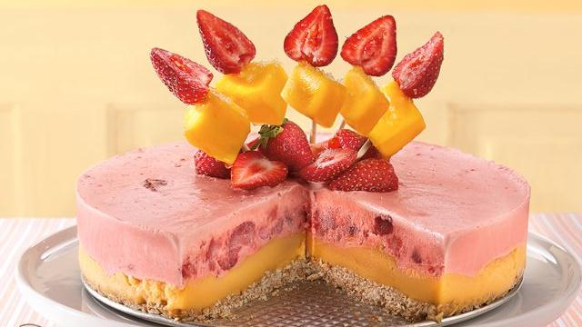 Strawberry-Mango Margarita Dessert