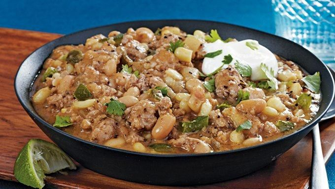 Slow-Cooker Turkey White Bean Chili recipe - from Tablespoon!