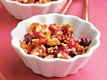 Blueberry-Rhubarb Crisp