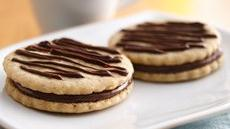 Chocolate Hazelnut Sandwich Cookies Recipe