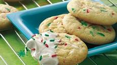 Christmas Confetti Cookies Recipe