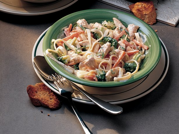 Easy Chicken-Pasta Primavera