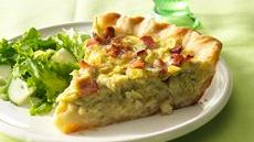 Five-Ingredient Quiche Recipe