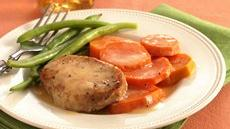 Orange Pork and Sweet Potatoes Recipe