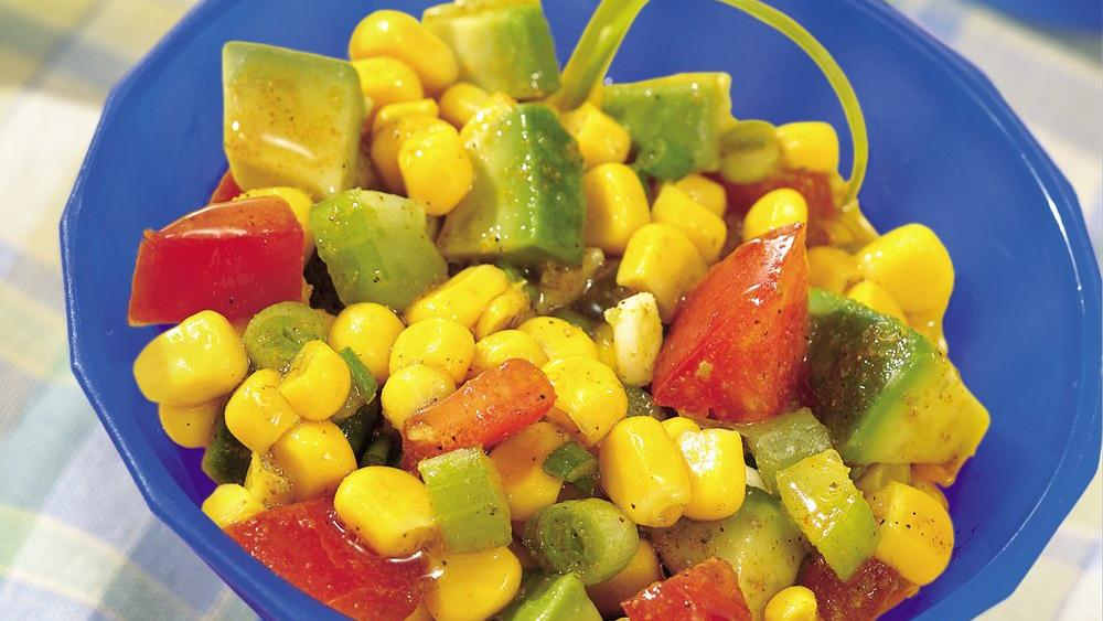 Hurry-Curry Corn Salad