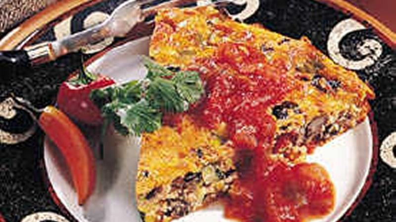 Impossibly Easy Southwestern Pie