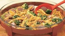 One-Dish Macaroni and Cheese with Sausage Recipe