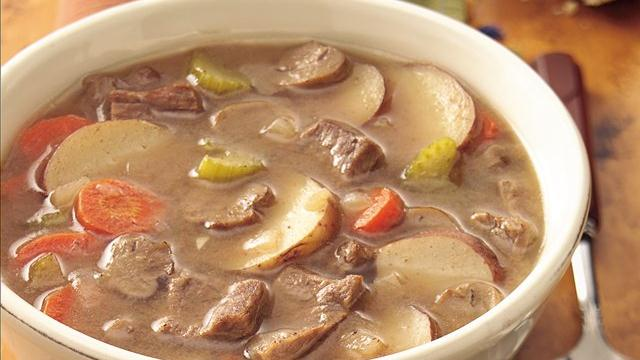 Hearty Steak and Tater Soup