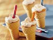 Orange Soda Cake Cones