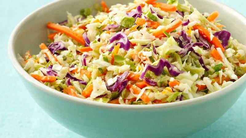 Asian Coleslaw recipe from Betty Crocker
