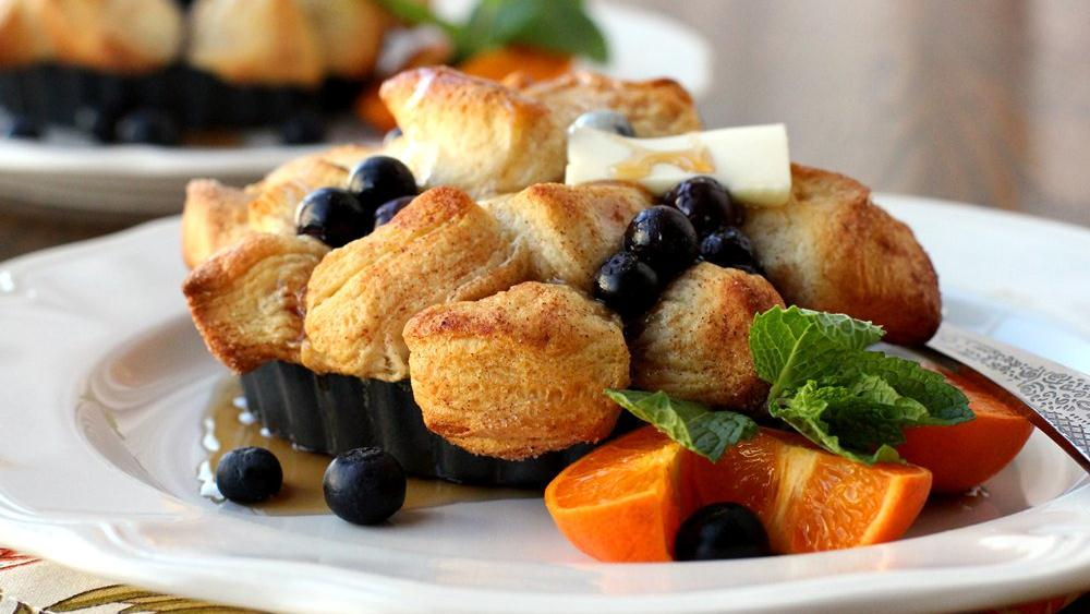 Blueberry-Pancake Monkey Bread