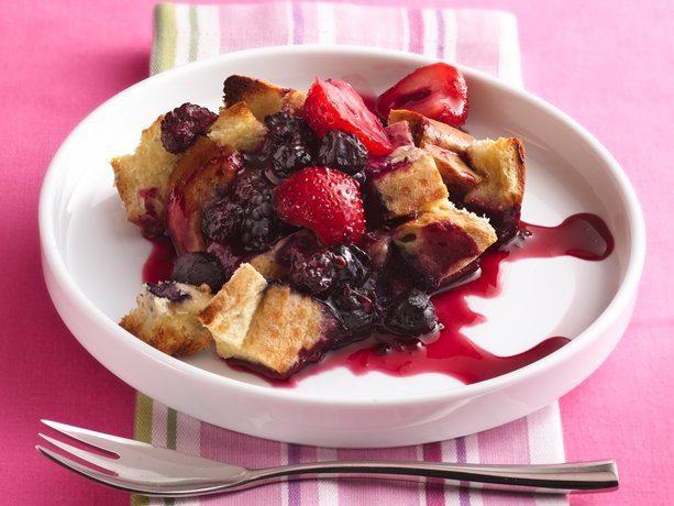 enjoy this delightful french toast baked using cascadian farm berries ...
