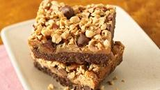 Peanuttiest Peanut Butter Brownie Bars Recipe