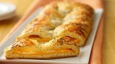 Three-Cheese Crescent Slices Recipe