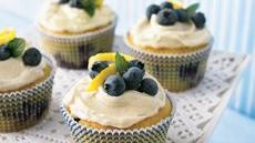 Lemon-Blueberry Cupcakes Recipe