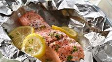 Grilled Lemon Salmon Recipe