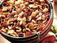 Hot and Spicy Chex Party Mix