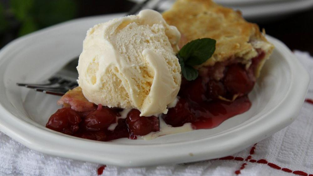 Fresh Cherry Pie recipe from Pillsbury.com
