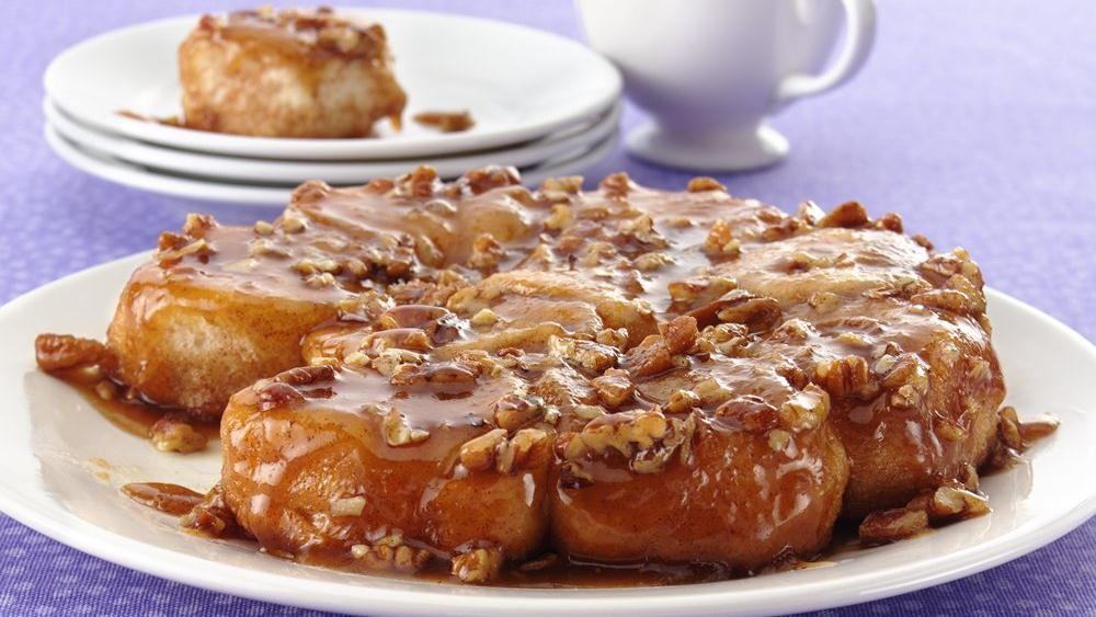 Easy Caramel Sticky Buns recipe from Pillsbury.com