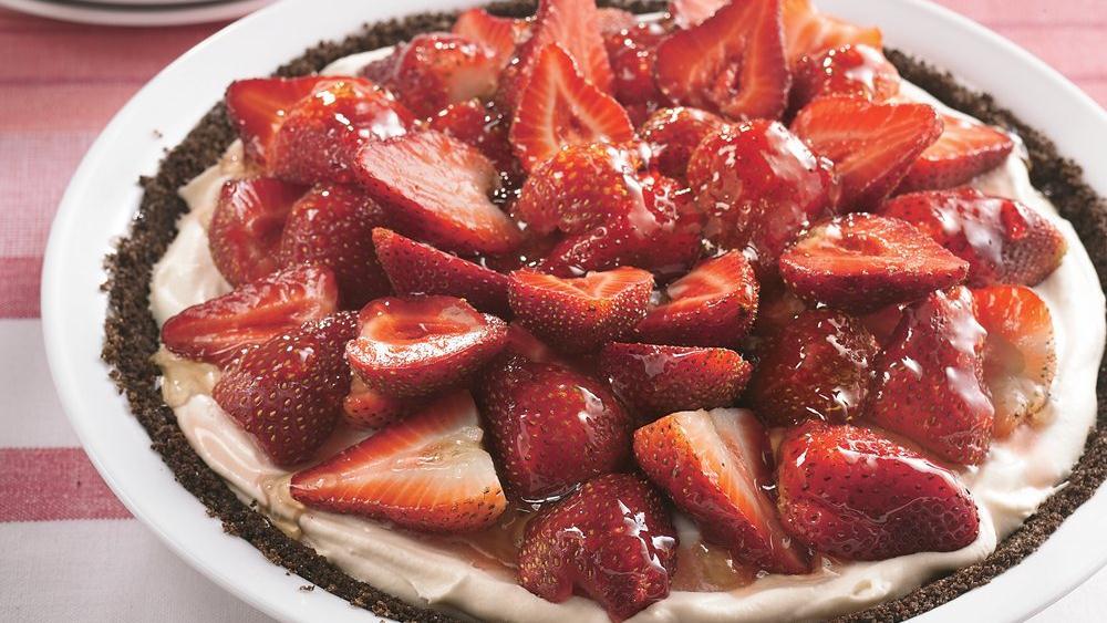 Decadent Strawberry Pie