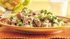 Ham, Broccoli and Rice Skillet Dinner Recipe