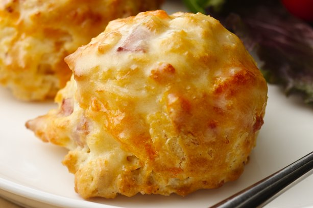 Mini Ham and Cheese Biscuits with Mustard Butter | General Mills ...