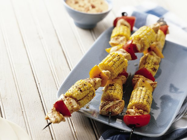 Spicy Southwest Chicken Kabobs