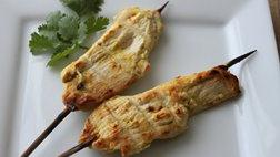 Coconut Chicken Satay
