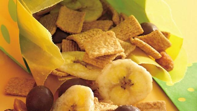 Banana Snack Mix