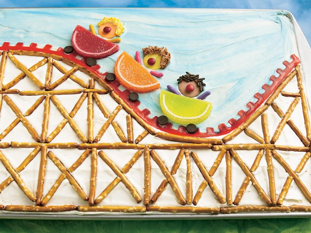 Roller Coaster Cake