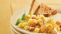 Gluten Free Herbed Potato Egg Scramble