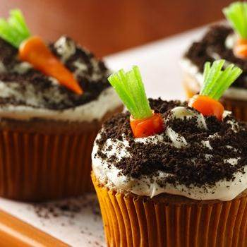 Easy Carrot Cake Cupcakes Recipe From Betty Crocker