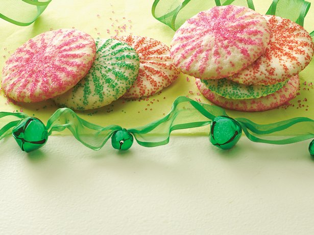 Press-and-Bake Sugar Cookies