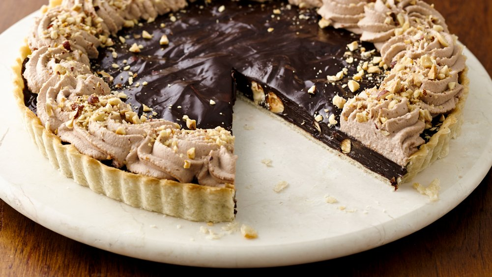 tart caramel chocolate hazelnut tart hazelnut chocolate mousse tart ...