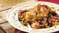 Sausage and Shrimp Paella Recipe