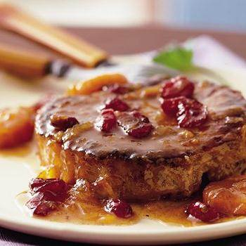 Crown Roast Of Pork With Apple, Cranberry And Pecan Stuffing Recipes ...