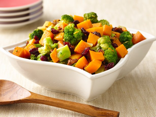 Broccoli and Squash Salad