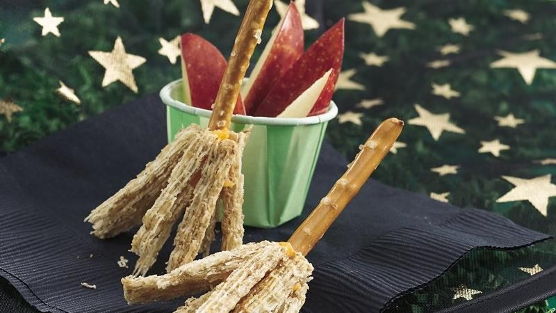 Witches' Broom Snacks