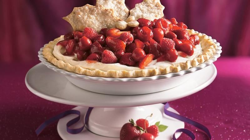 Three-Berry Cheesecake