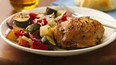 Mediterranean Chicken and Vegetables Recipe