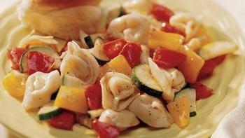 Tortellini with Fresh Vegetables