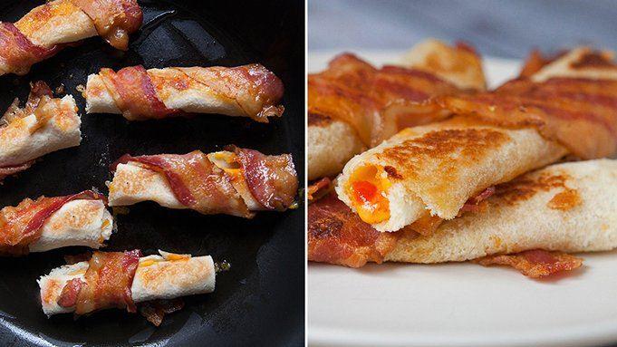 ... dinner roll california roll cinnamon roll waffles bacon roll ups ii