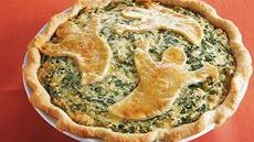 Spooky Spinach Pie Recipe