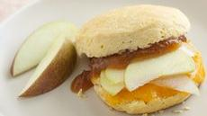 Apple and Cheddar Biscuit Sandwiches Recipe