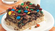 Chex® and Candy Squares Recipe