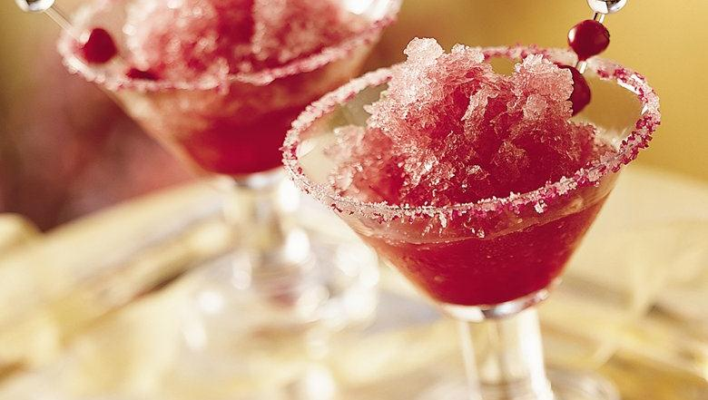 Gluten Free Frozen Cranberry Margaritas