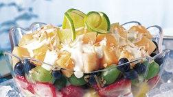 Key Lime-Fruit Salad
