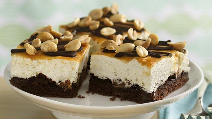 Chocolate peanut butter dream bars recipe from tablespoon for Award winning dutch oven dessert recipes
